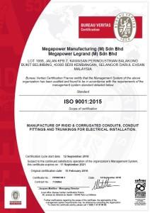 ISO9001-2015- MEGAPOWER